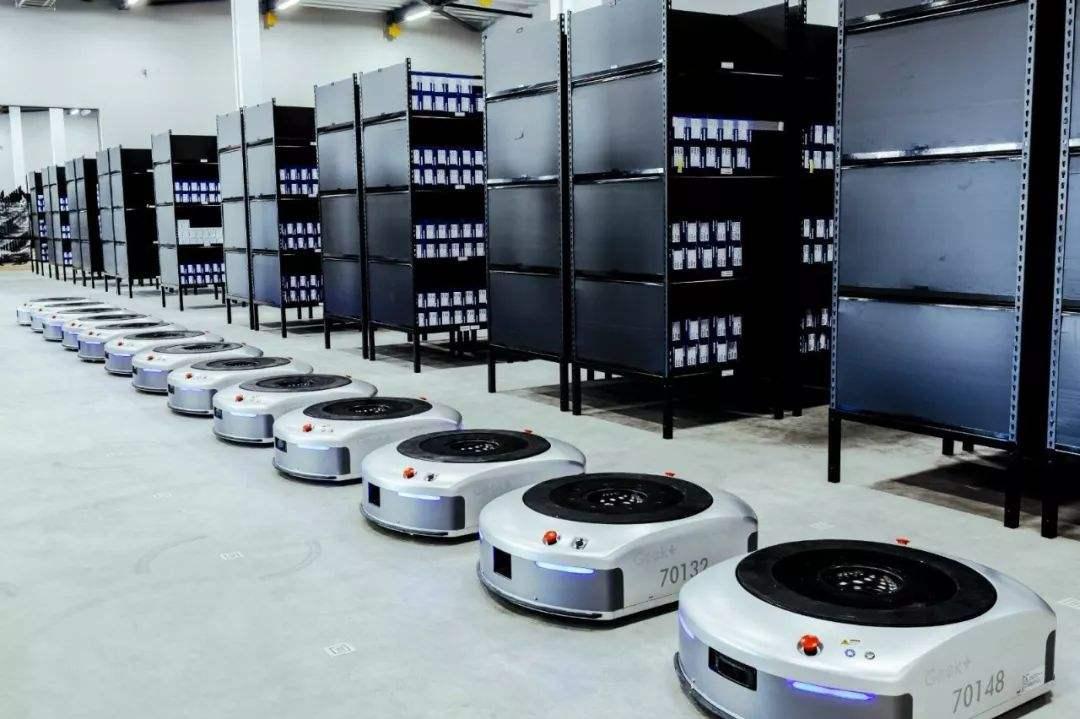 低压伺服电机在AGV上的应用